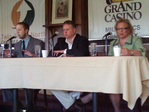 Twin Cities North Chamber Digital Media Panel